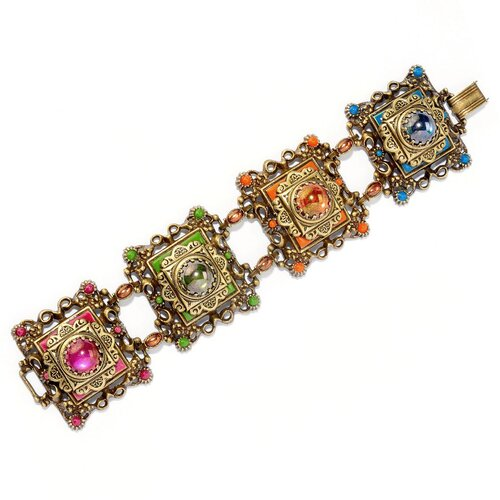 Sweet Romance Desert Colors Links Bracelet