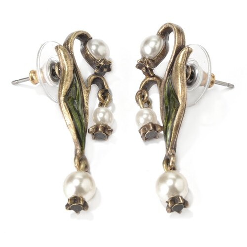 Sweet Romance Lily of the Valley Earrings