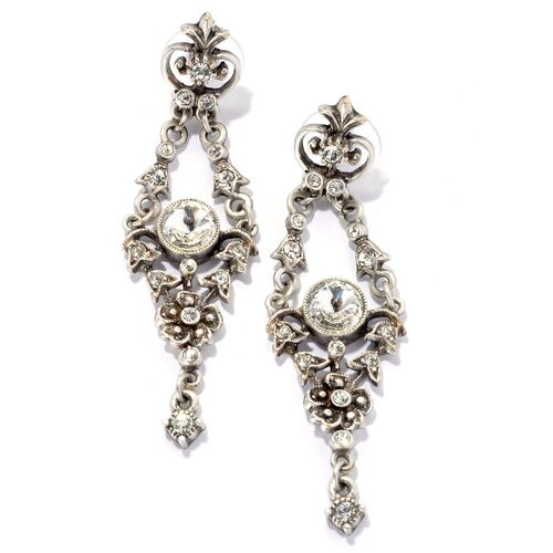 Marie Antoinette Crystal Drop Earrings