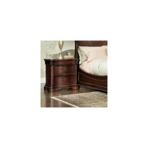 Legacy Classic Furniture Heritage Court 3 Drawer Nightstand