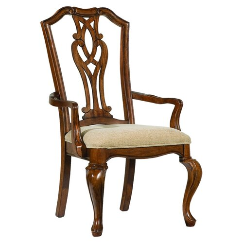 Evolution Pierced Splat Back Arm Chair (Set of 2)