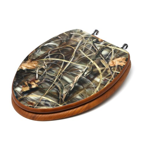 Topseat RealTree Camouflage Advantage Max HD Elongated Toilet Seat