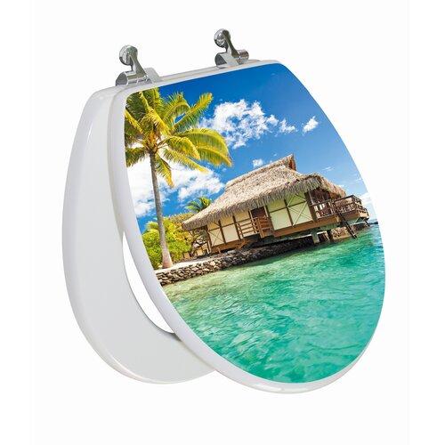Topseat 3D Series Island Round Toilet Seat