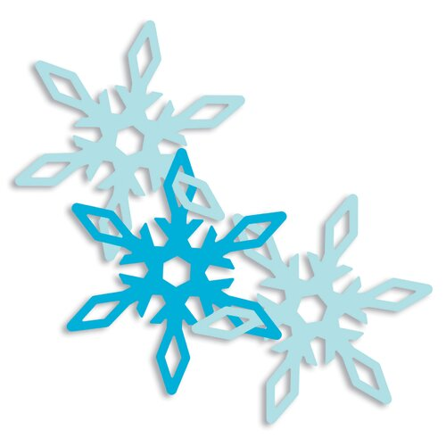 EK Success Garland Snowflake Punch