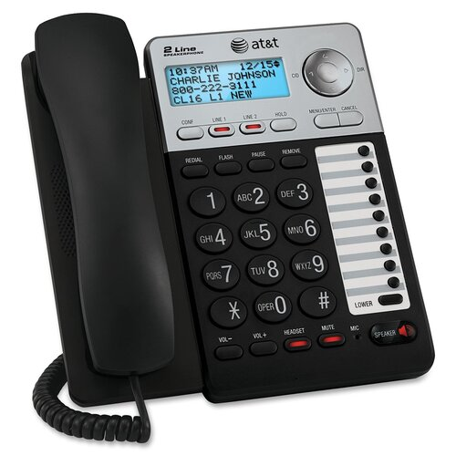 AT&T Two-Line Corded Speakerphone
