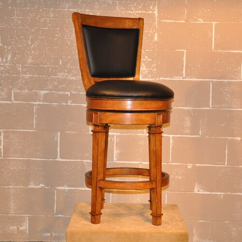 "ECI Furniture Monticello 30"" Swivel Bar Stool with Cushion"