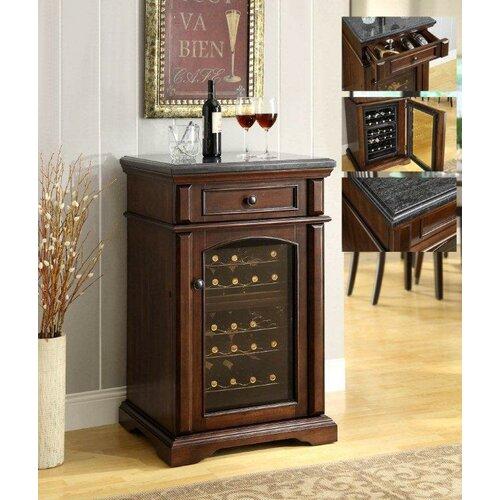Premium Bar Series 24 Bottle Single Zone Thermoelectric Wine Refrigerator