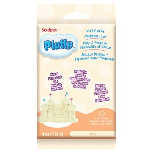 Sculpey Pluffy Oven-Bake Clay