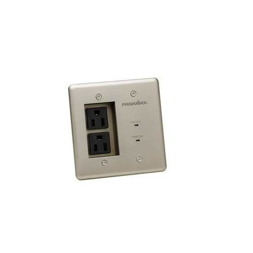 Panamax 2 AC Outlets for In Wall Surge