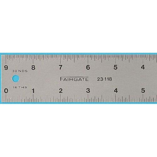 Fairgate Eluxite Aluminum Centering Ruler