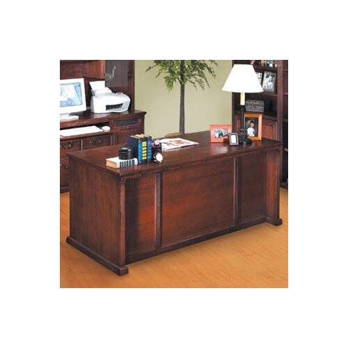 kathy ireland Home by Martin Furniture Huntington Oxford Double Pedestal Executive Desk