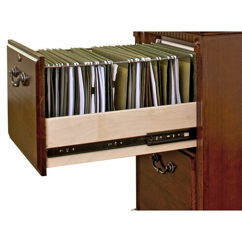 kathy ireland Home by Martin Furniture Huntington Club Two Drawer File Pedestal