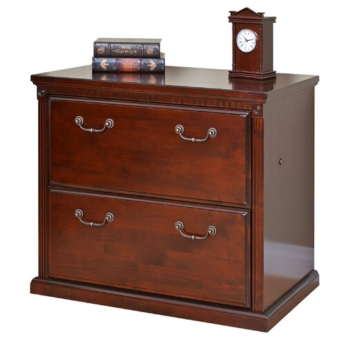 Huntington Club Two Drawer Lateral File Cabinet