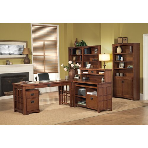 kathy ireland Home by Martin Furniture Mission Pasadena Laptop/Writing Desk