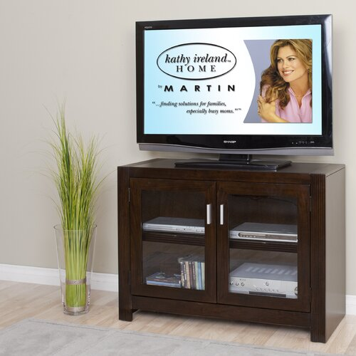 "kathy ireland Home by Martin Furniture Carlton Entertainment 40"" TV Stand"