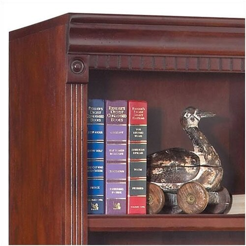 """kathy ireland Home by Martin Furniture Huntington Club 72"""" Library Bookcase"""