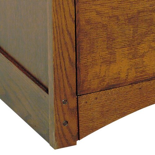 kathy ireland Home by Martin Furniture California Bungalow 2-Drawer  File