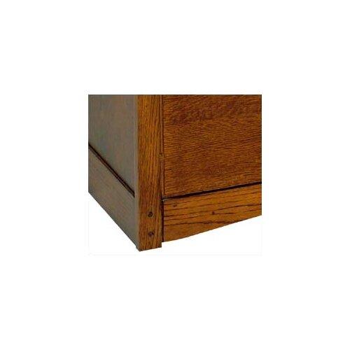 kathy ireland Home by Martin Furniture California Bungalow 2-Drawer  File