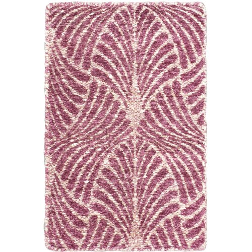 Javier Pink Abstract Rug