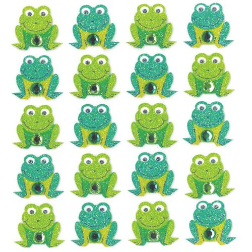 Jolee's Boutique Repeats Frog Stickers