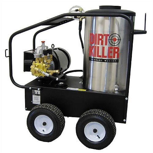 4.0 GPM / 3000 PSI Hot Water Electric Pressure Washer