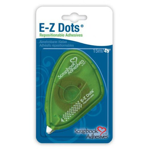 Scrapbook Adhesives E-Z Dots Repositionable Adhesive Tape