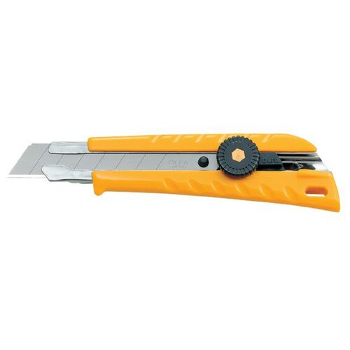 Olfa Extra Heavy-Duty No-Slip Utility Knife with Lock