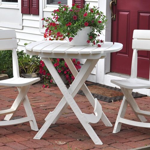 Adams Manufacturing Corporation Quik-Fold Cafe Table