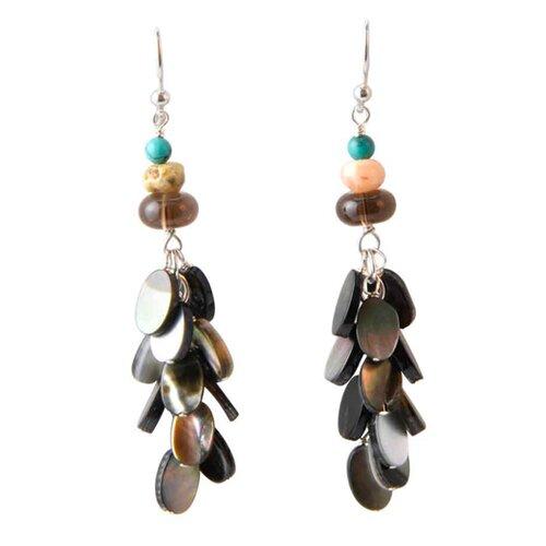 Barse Catalina Gemstone Drop Earrings
