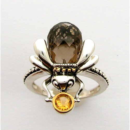 Meredith Leigh Designs Sterling Silver Critter Bee Ring
