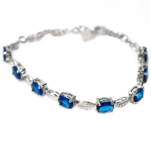 Sapphire Link Bracelet