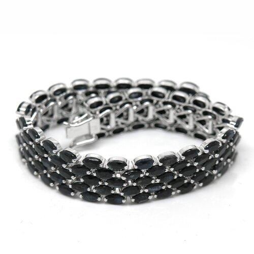 Natural Sapphire Tennis Bracelet