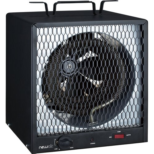 NewAir 5,600 Watt Fan Forced Compact Garage Space Heater