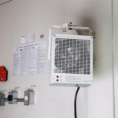NewAir Fan Forced Wall / Ceiling Mount Electric Garage Space Heater