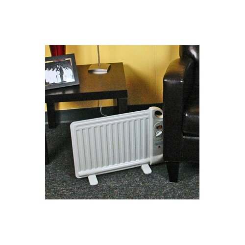 NewAir Portable 400 Watt Convection Flat Panel Space Heater