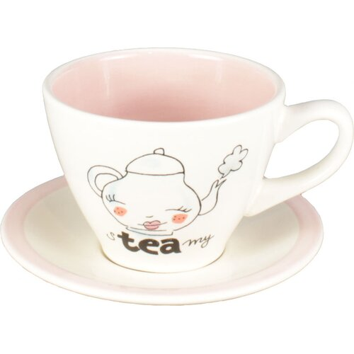 Blond-Amsterdam 8.5 oz. Cappucino Cup and Saucer