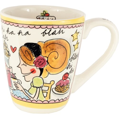Blond-Amsterdam Small Talk 10 oz. Cake Mug