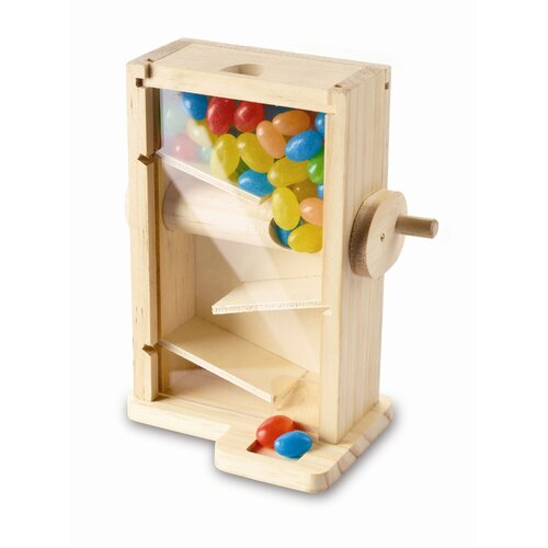 Red Tool Box Candy Maze Toy
