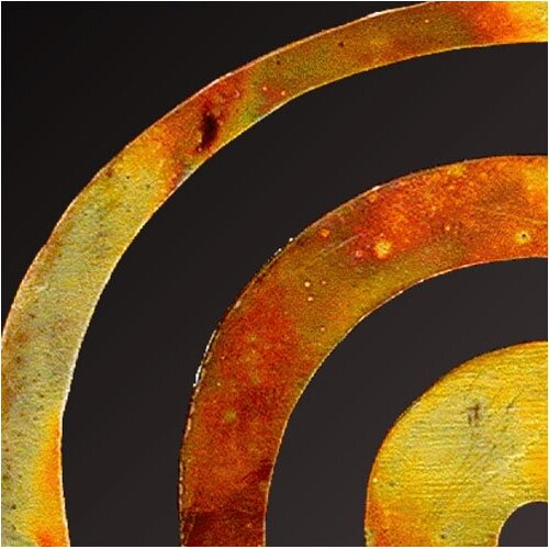 Art Matters Cosmic Spiral Garden Stake