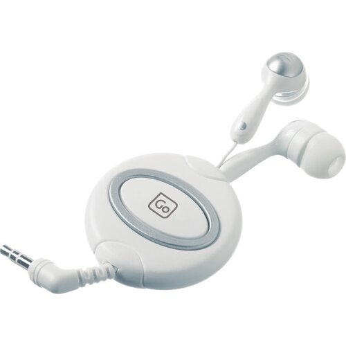Go Travel Retractor Ear Phones