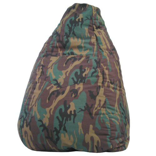Dorm Camo Bean Bag Lounger
