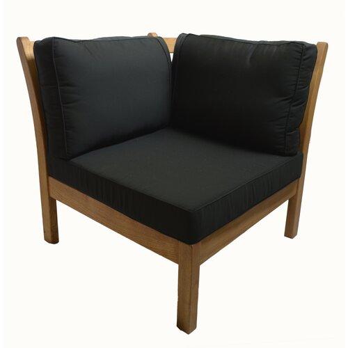 Haste Garden Kamea Sectional Deep Seating Corner Chair with Cushion