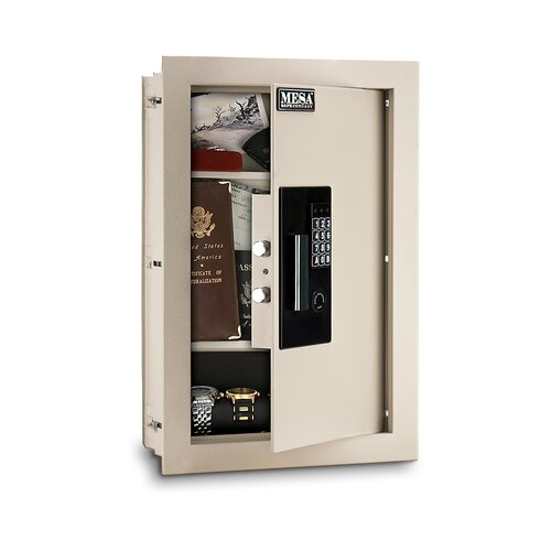 Mesa Safe Co. Electronic Lock Wall Safe