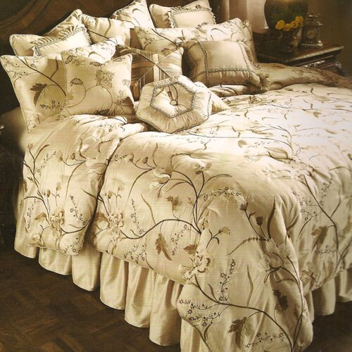 Michael Amini Bella Blanca Ensemble Comforter Set