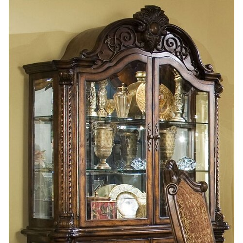 Michael Amini Windsor Court Curio Cabinet