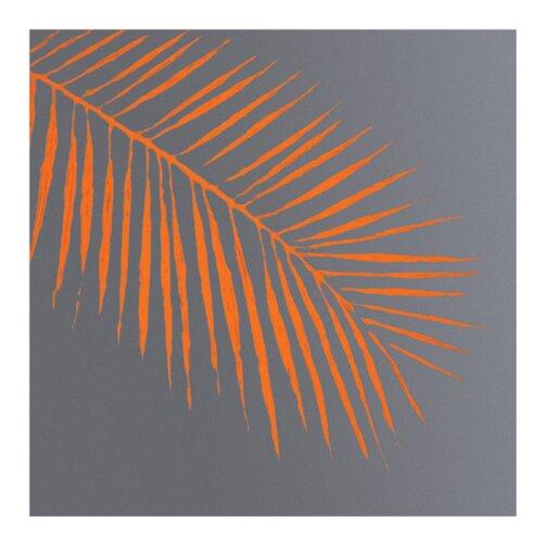 Sunpan Modern Palm Leaf Painting Print