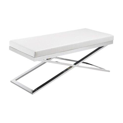 Alexa X-Base Faux Leather Bench