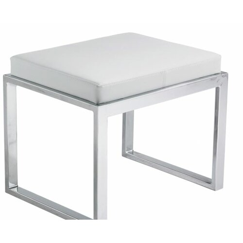 contemporary vanity stool for bathroom | Sunpan Modern Element Oliver Stool & Reviews | Wayfair