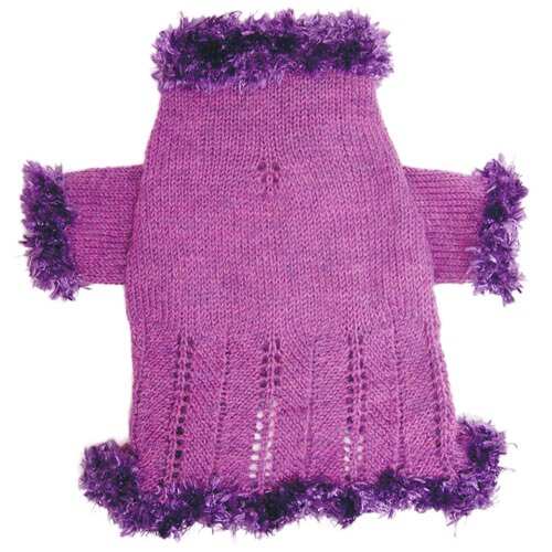 Adorable Hand Knit Dog Sweater