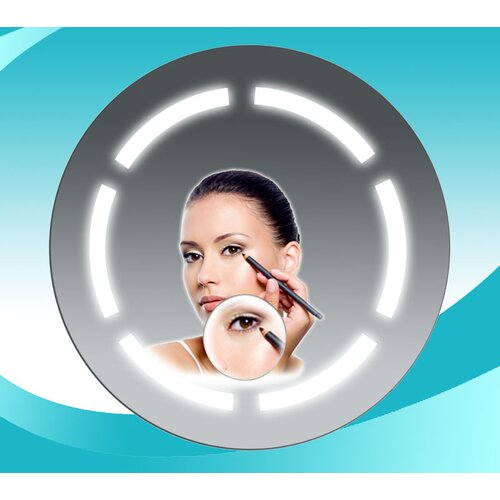 Fog Free Bathroom Round Mirror